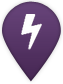 Stormwater project map marker symbol